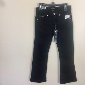 Girls Sz 8 Star Ride Black Jeans 👖 NWT